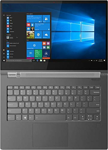"2019 Lenovo Yoga C930 2-in-1 13.9"" FHD Touch-Screen Laptop - Intel i7, 12GB DDR4, 512GB PCIe SSD, 2x Thunderbolt 3, Dolby Atmos Audio, Webcam, WiFi, Active Pen, 3 LBS, 0.6"", Windows 10, Iron Gray"