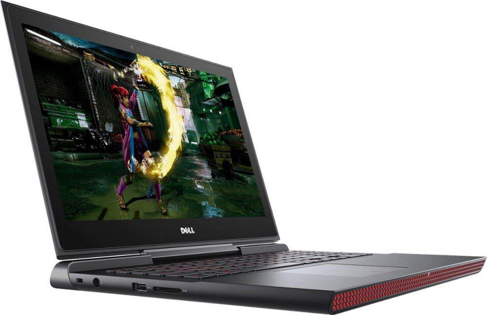 Dell Inspiron 15 7000 Series Gaming Edition 7567 15.6-Inch Full HD Screen Laptop - Intel Core i5-7300HQ, 1 TB Hybrid HDD, 8GB DDR4 Memory, NVIDIA GTX 1050 4GB Graphics, Windows 10