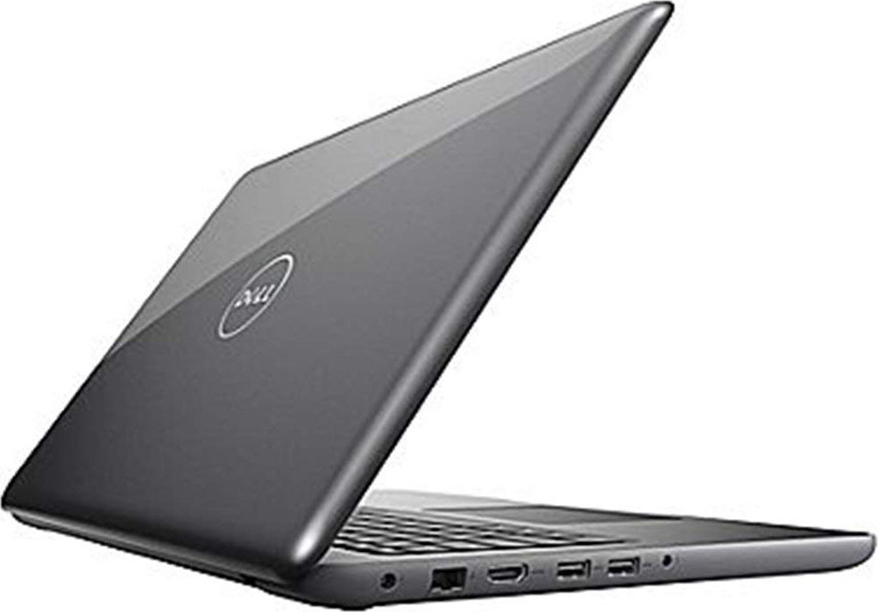 "Dell Inspiron 15.6"" LED-Backlit Display Laptop PC Intel i5-7200U Processor 8GB DDR4 RAM 256GB SSD DVD-RW Backlit-keyboard HDMI 802.11ac Webcam Bluetooth Windows 10-Gray"