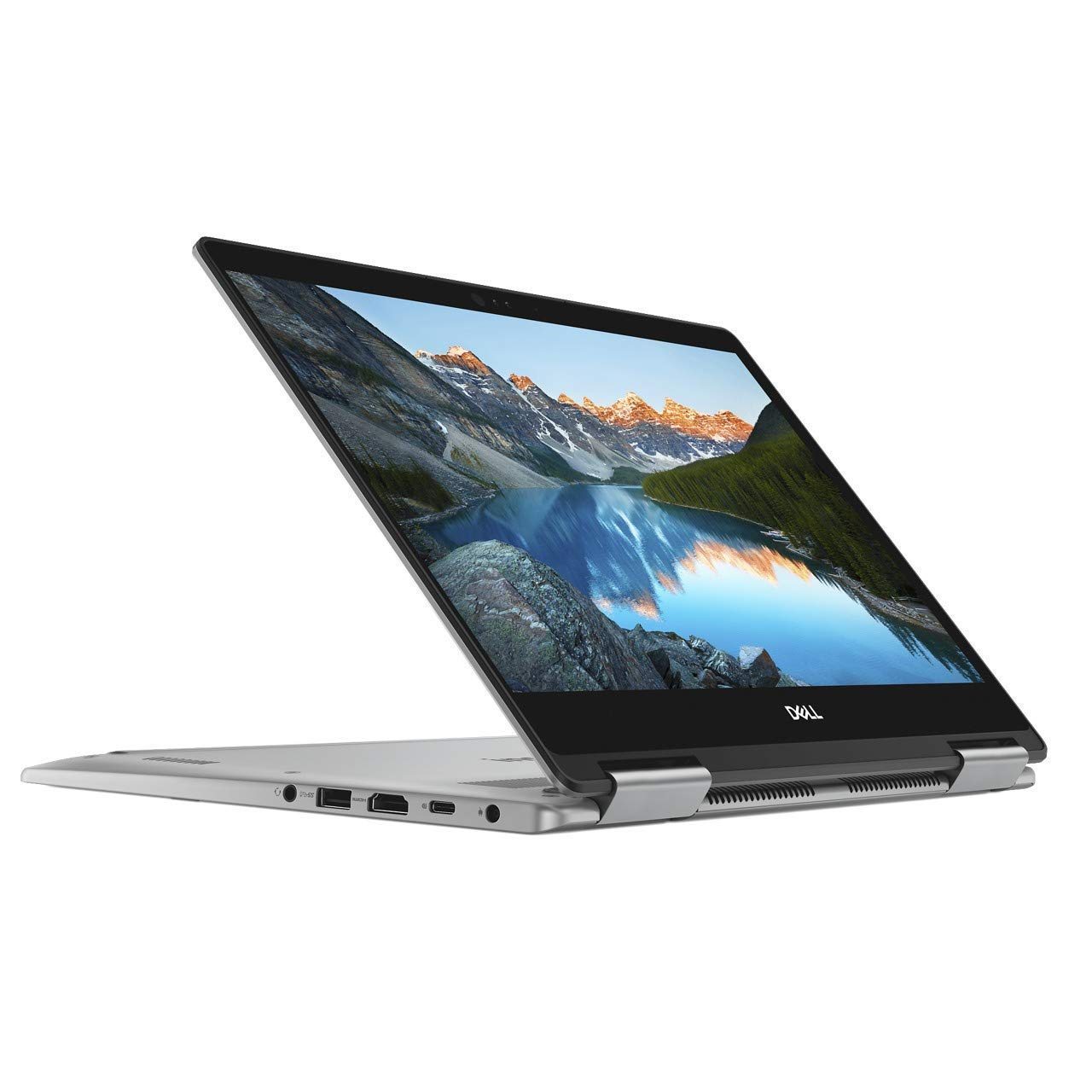 Dell Inspiron 13 7373 13.3-Inch 256GB SSD Core i7 2-in-1 Touch-Screen Laptop (16GB RAM, Intel Core i7-8550U, Windows 10 Home) I7373-7227GRY - Era Gray