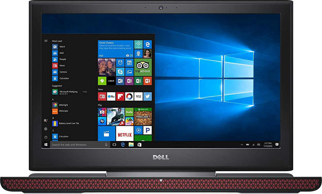 Dell Inspiron 15 7567 Laptop: Core i5-7300HQ, 256GB SSD, 8GB RAM, GTX 1050Ti, 15.6inch Full HD Display