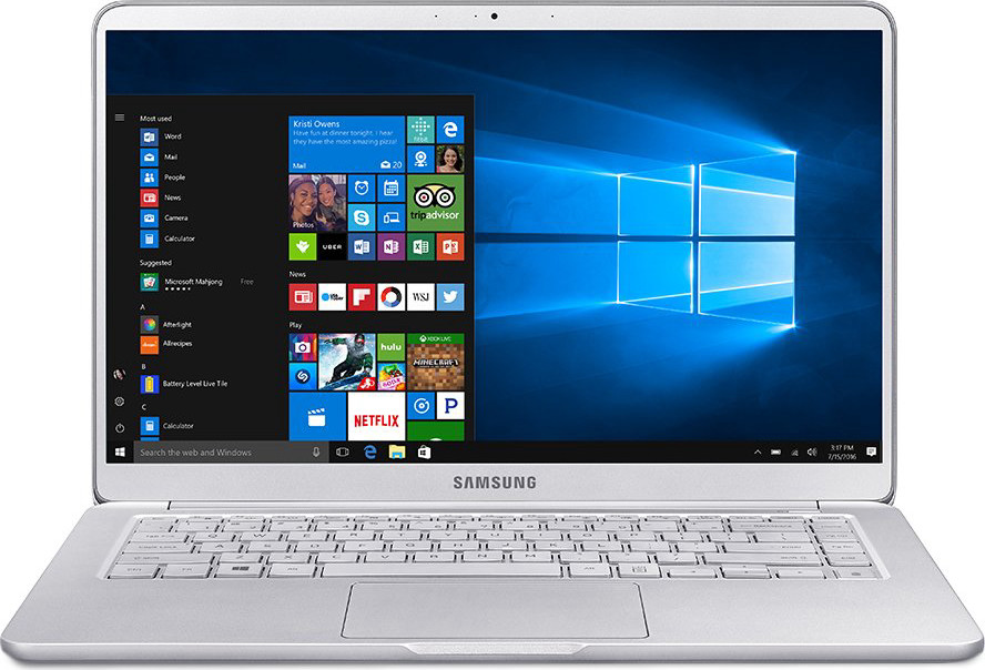 "Samsung Notebook 9 NP900X5T-K01US Traditional Laptop (Windows 10 Home, Intel Core i7, 15"" LCD Screen, Storage: 256 GB, RAM: 8 GB) Light Titan"