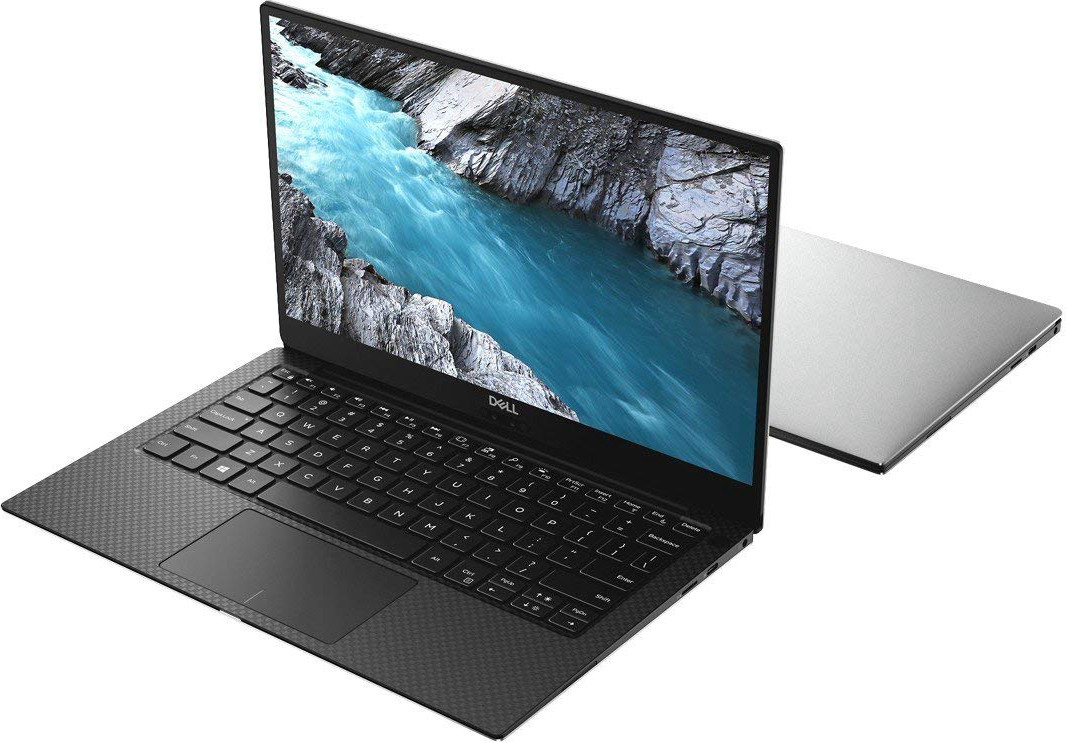 "Dell XPS 13 - 13.3"" UHD InfinityEdge, 8th Gen Intel Core i7, 16GB RAM, 1TB SSD - Silver - 9370"