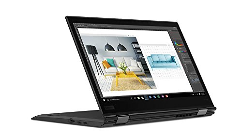 "Lenovo 14"" ThinkPad X1 Yoga 3rd Gen Touchscreen LCD 2 in 1 Ultrabook Intel Core i7 (8th Gen) i7-8550U Quad-core (4 Core) 1.8GHz 8GB LPDDR3 256GB SSD Windows 10 Pro 64-bit (English) Black, 20LD001KUS"