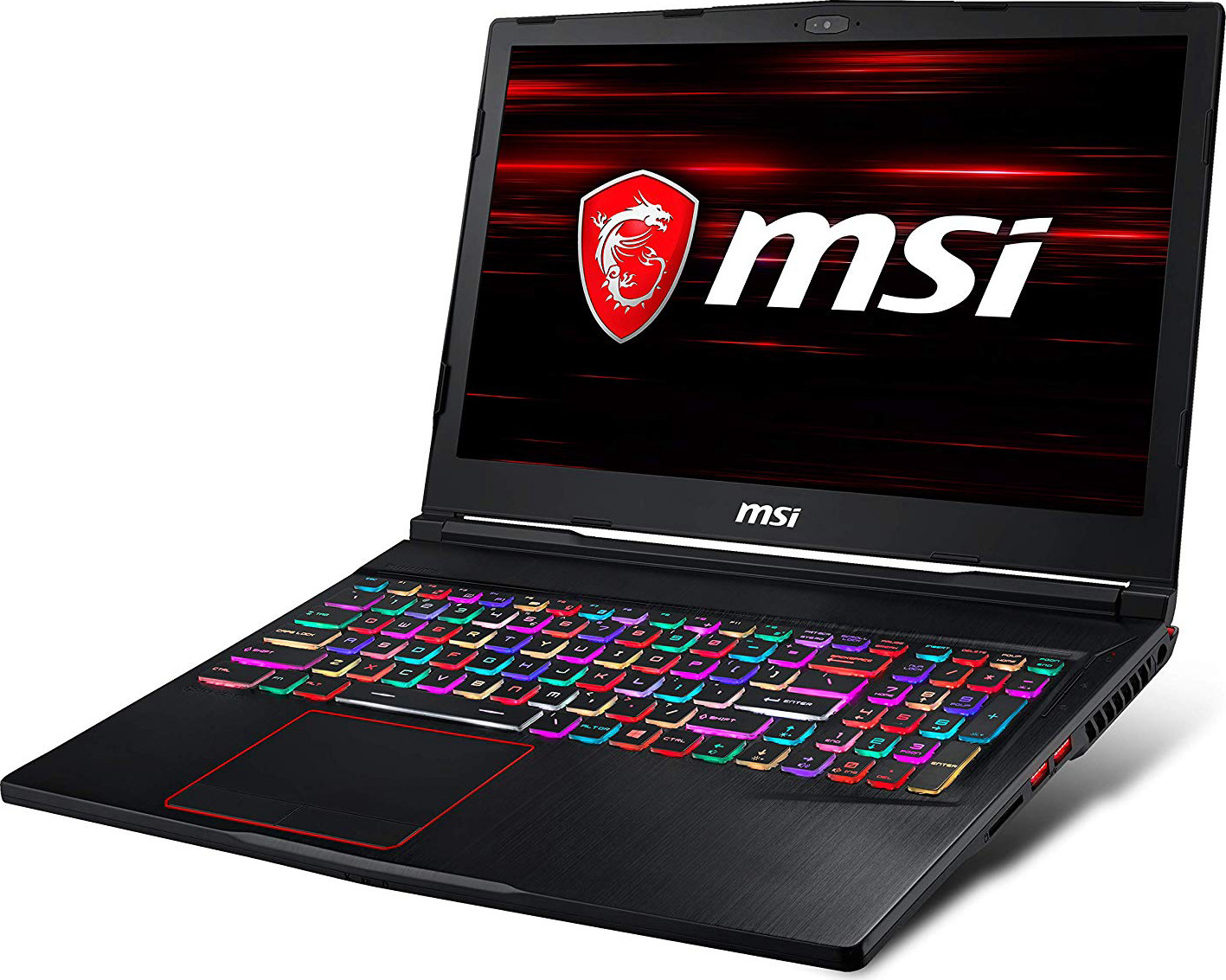 "CUK MSI GE63 Raider RGB Gamer Notebook (Intel i7-8750H, 32GB RAM, 512GB NVMe SSD + 1TB HDD, NVIDIA GeForce GTX 1060 6GB, 15.6"" FHD 120Hz 3ms, Windows 10 Home) Gaming Laptop Computer"