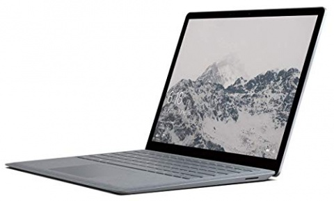 Microsoft Surface Laptop Intel Core i5 7th Gen 8GB RAM 256GB SSD Win 10 Platinum (Renewed)