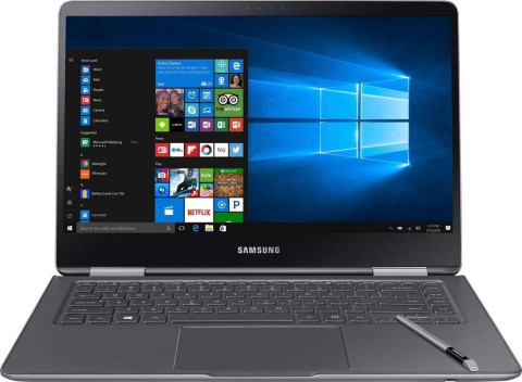 "2019 Premium Samsung Notebook 9 Pro Business 15"" Full HD 2-in-1 Touchscreen Laptop/Tablet - Intel Quad-Core i7-8550U, 16GB DDR4, 500GB, Backlit Keyboard Win 10 Built in S Pen"