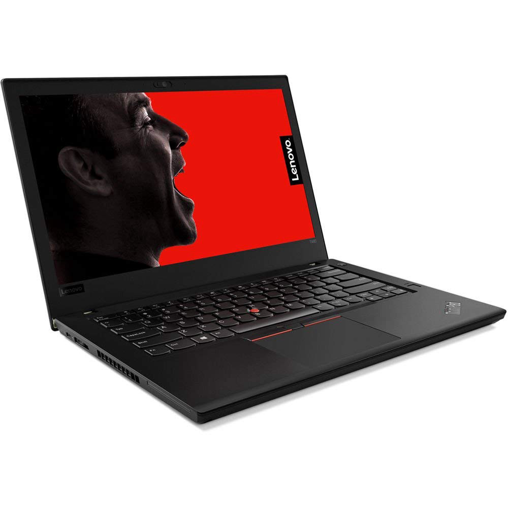 "Lenovo ThinkPad T480 14"" HD Business Laptop (Intel 8th Gen Quad-Core i5-8250U, 16GB DDR4 RAM, Toshiba 256GB PCIe NVMe 2242 M.2 SSD) Fingerprint, Thunderbolt 3 Type-C, WiFi, Windows 10 Pro - Black"