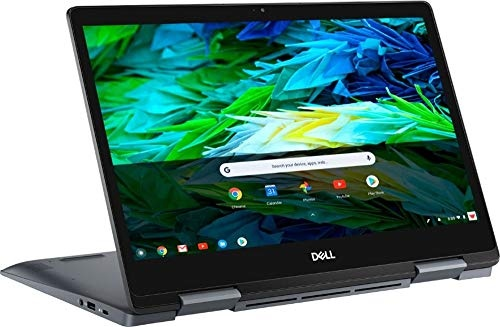"Dell Inspiron 2-in-1 14"" Full HD Touch-Screen Chromebook - Intel Core i3, 4GB Memory, 128GB eMMC Solid State Drive Urban Gray Chrome OS"