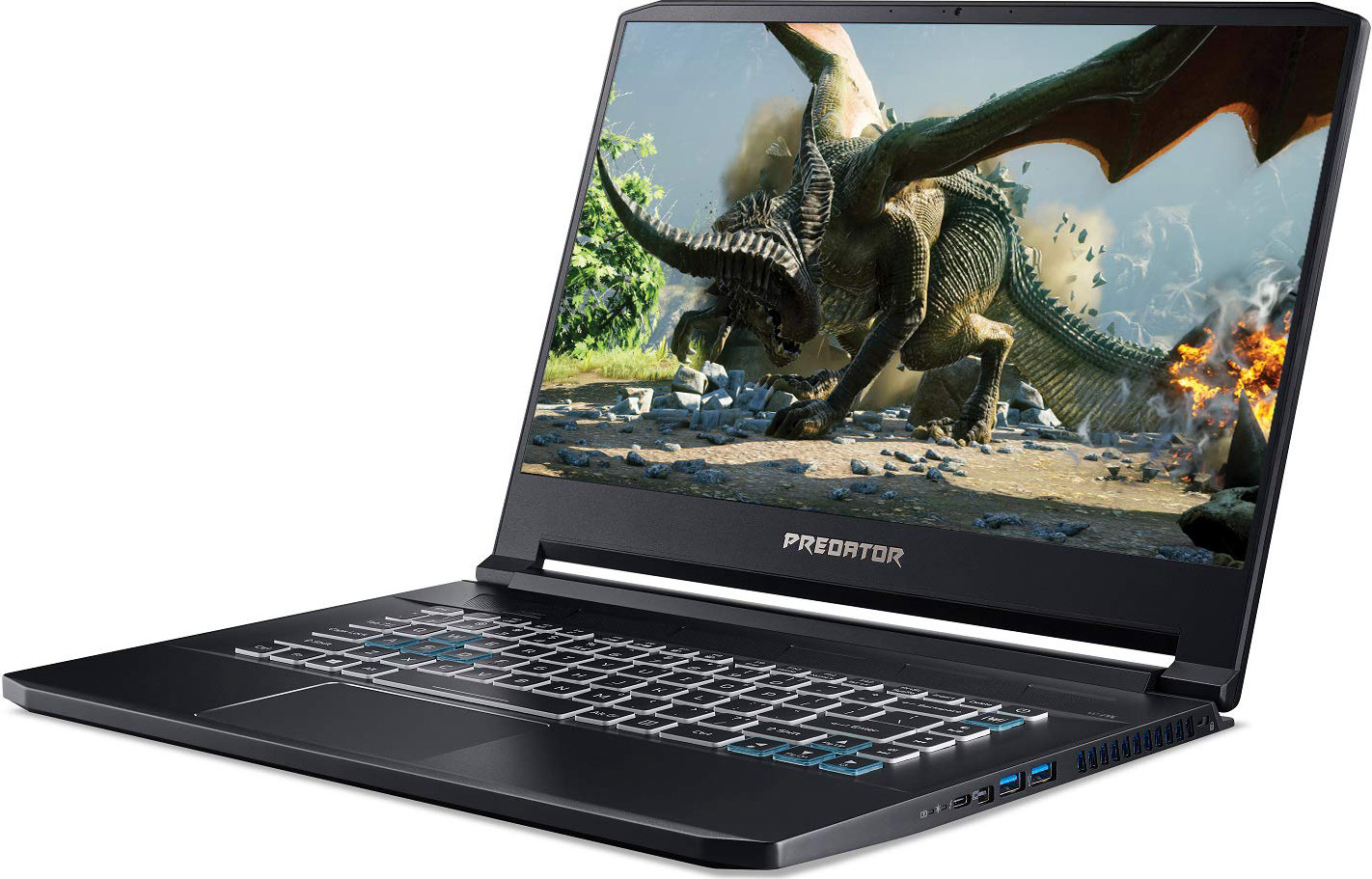 "Acer Predator Triton 500 Thin & Light Gaming Laptop, Intel Core i7-8750H, GeForce RTX 2060 with 6GB, 15.6"" Full HD 144Hz 3ms IPS Display, 16GB DDR4, 512GB PCIe NVMe SSD, RGB Keyboard, PT515-51-71VV"