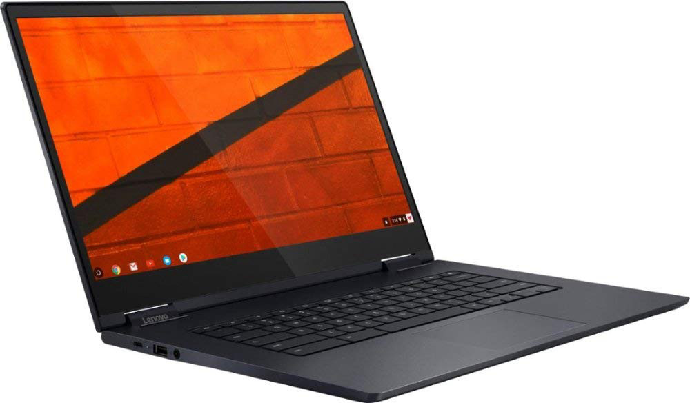 "Newest Lenovo Yoga C630 2-in-1 15.6"" FHD IPS Multitouch Screen Chromebook with 128GB MicroSD Card 