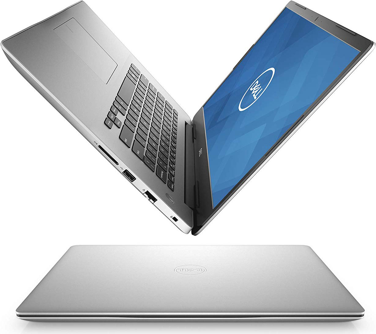 Dell Inspiron 15 5000 Laptop, 15.6-Inch FHD (1920 X 1080) IPS, Intel i7-8565, Nvidia(R) Geforce(R) MX250 with 2GB Gddr, 8GB, 128 GB SSD+1TB, i5580-7707SLV-PUS