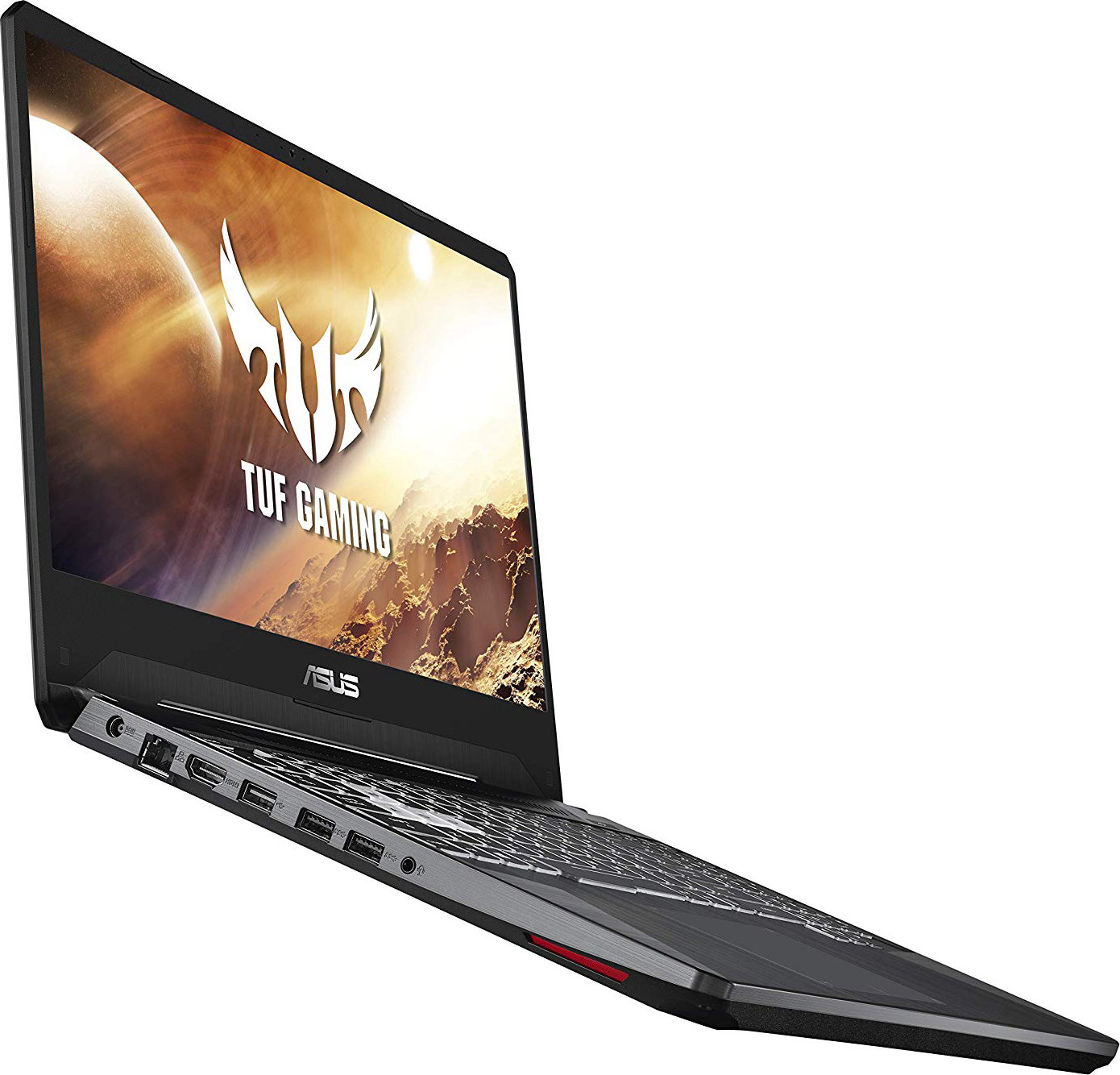 "ASUS TUF (2019) Gaming Laptop, 15.6"" 120Hz Full HD IPS-Type, AMD Ryzen 7 3750H, GeForce GTX 1650, 8GB DDR4, 512GB PCIe SSD, Gigabit Wi-Fi 5, Windows 10 Home, FX505DT-EB73"