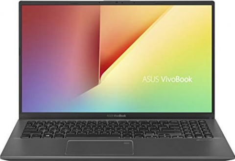 "ASUS VivoBook 15 Thin and Light Laptop, 15.6"" FHD, Intel Core i3-8145U CPU, 8GB RAM, 128GB SSD, Windows 10 in S Mode, F512FA-AB34, Slate Gray"