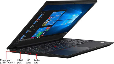 "2019 Lenovo Thinkpad E590 15.6"" HD Business Laptop (Intel Quad Core i5-8265U, 16GB DDR4 Memory, 256GB PCIe 3.0(x4) NVMe SSD M.2 SSD) Fingerprint, Type-C, HDMI, Ethernet, Webcam, Windows 10 Pro"