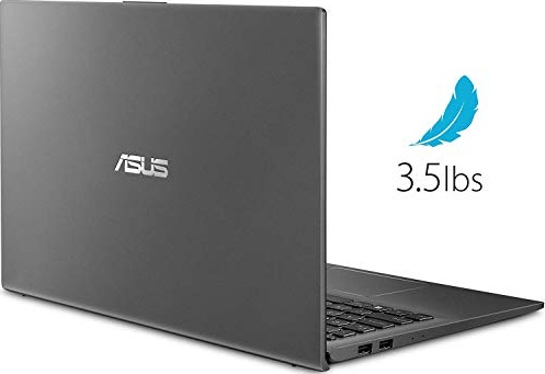 ASUS VivoBook 15 15.6 Inch FHD 1080P Laptop (AMD Ryzen 3 3200U up to 3.5GHz, 16GB DDR4 RAM, 256GB SSD, AMD Radeon Vega 3, Backlit Keyboard, FP Reader, WiFi, Bluetooth, HDMI, Windows 10) (Grey)