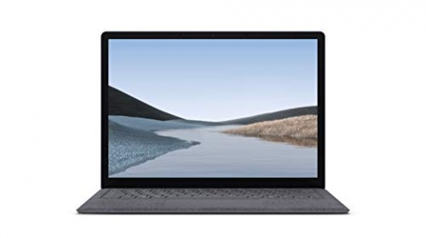 "Microsoft Surface Laptop 3 - 13.5"" Touch-Screen - Intel Core i5 - 8GB Memory - 128GB Solid State Drive (Latest Model) - Platinum with Alcantara"