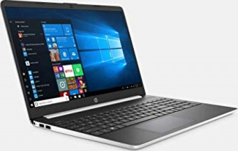 "HP 15 15.6"" HD Touchscreen Premium Laptop - 10th Gen Intel Core i5-1035G1, 16GB DDR4, 512GB SSD, USB Type-C, HDMI, Windows 10 - Silver"