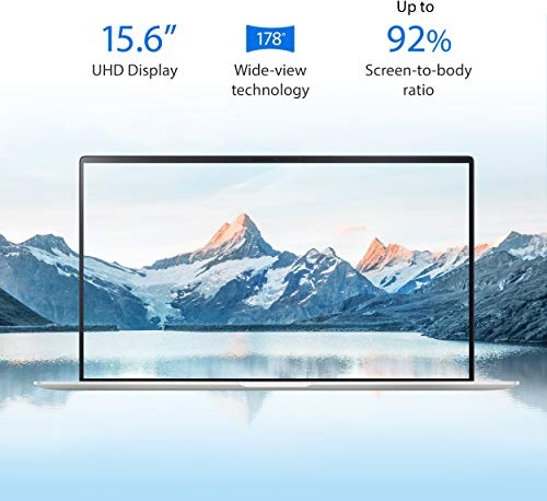 "ASUS ZenBook 15 Laptop, 15.6"" UHD 4K NanoEdge Display, Intel Core i7-10510U, GeForce GTX 1650, 16GB, 512GB PCIe SSD, ScreenPad 2.0, Amazon Alexa Compatible, Windows 10, Icicle Silver, UX534FTC-AS77"