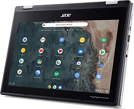 "Acer Chromebook Spin 311 Convertible Laptop, Intel Celeron N4020, 11.6"" HD Touch, 4GB LPDDR4, 32GB eMMC, Gigabit WiFi 5, Bluetooth 5.0, Google Chrome, CP311-2H-C679"